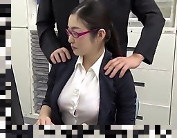 japanese office stockings uncensored